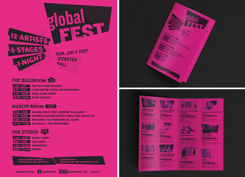 globalFEST Program by Diogo Montes