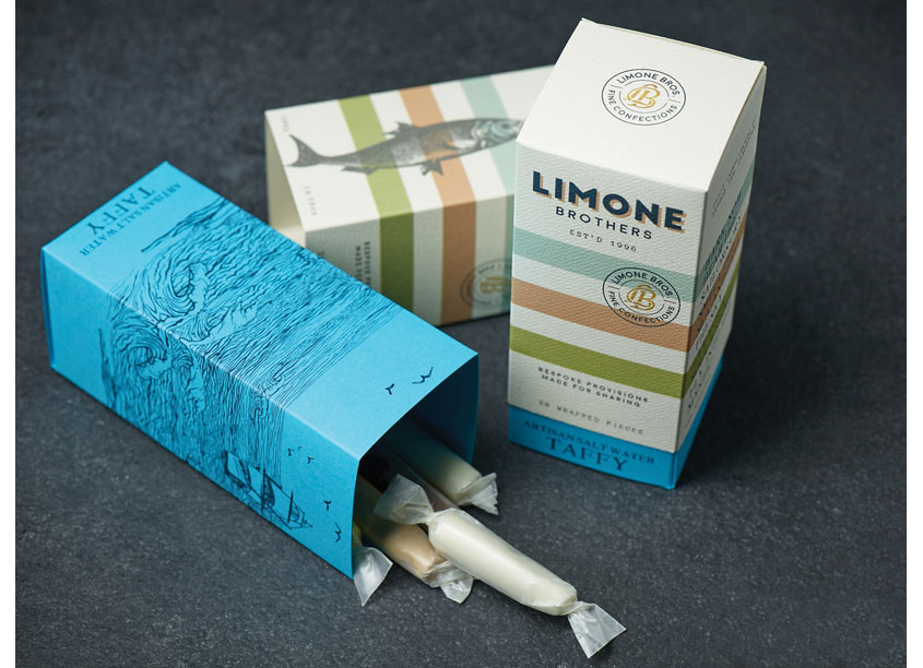 Limone Taffy Box by Farmhouse Design