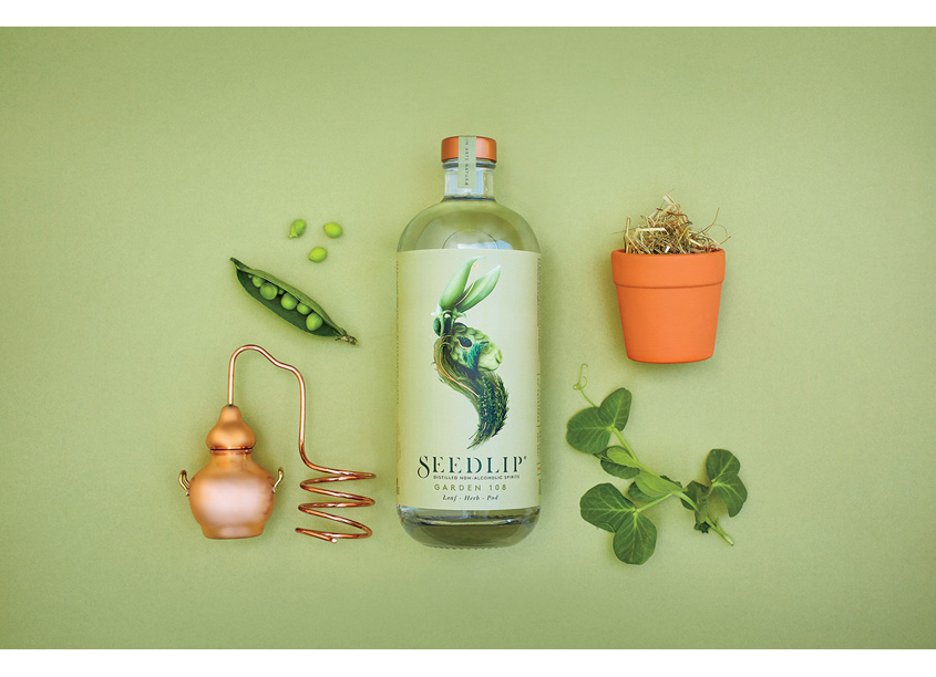 Pearlfisher  Seedlip Branding and Packaging