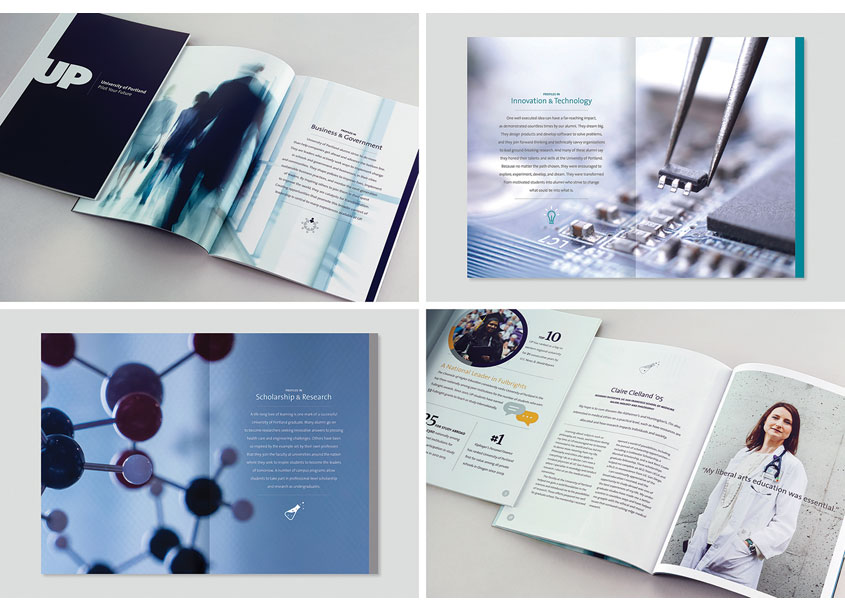 Outcomes Brochure by Lightner Design