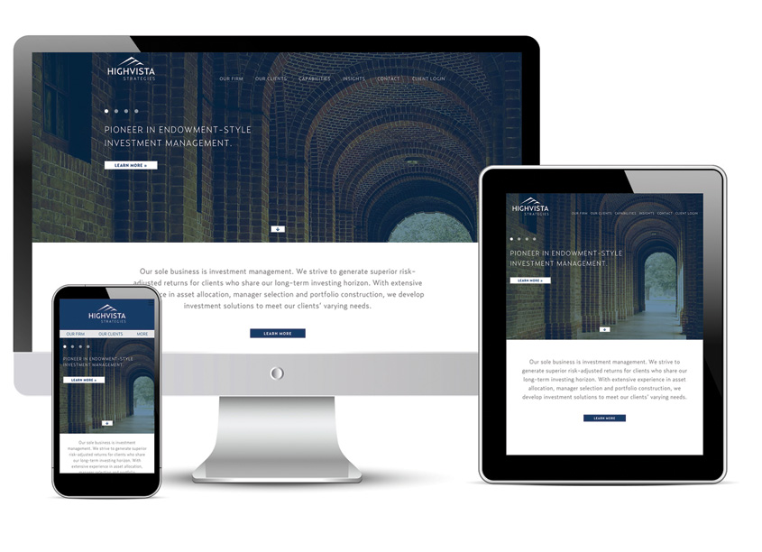 HighVista Website by Prosek Partners