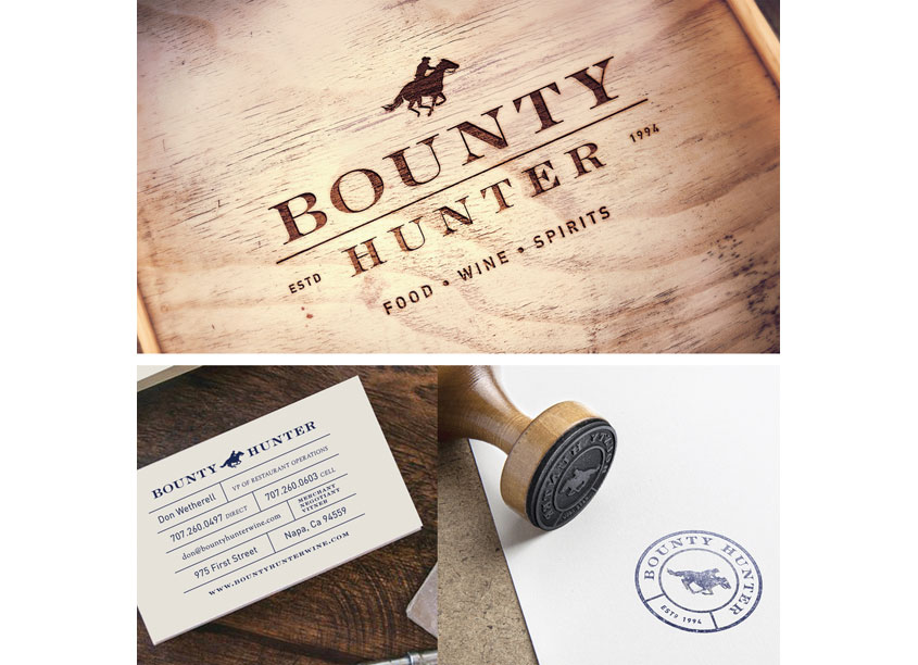 Bounty Hunter Branding and Packaging by FINE