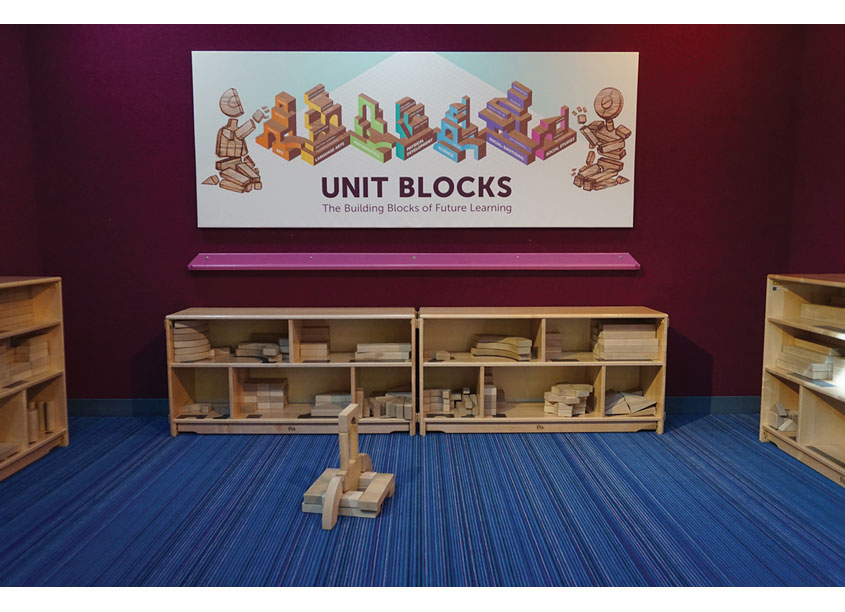 Unit Blocks by DuPage Children's Museum
