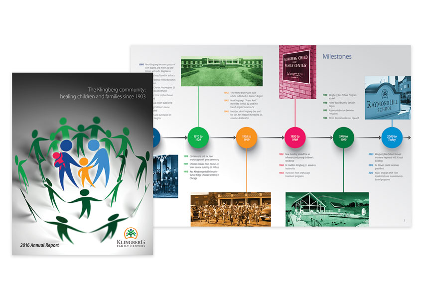Klingberg Family Centers 2016 Annual Report by eklektos