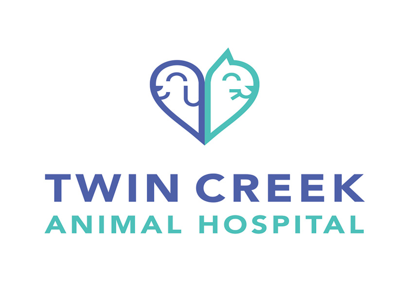 Eleven19  Twin Creek Animal Hospital Logo Design