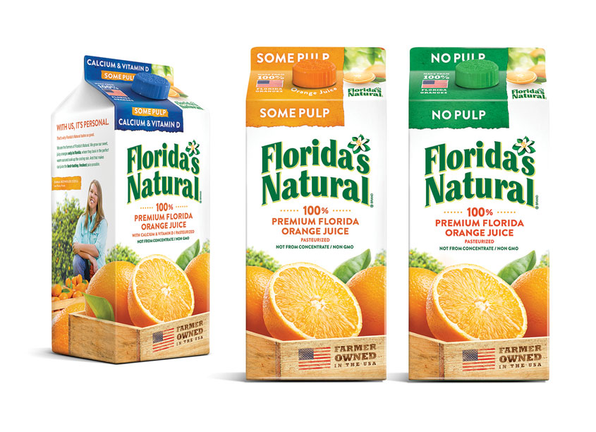 LAM Design  Florida's Natural Orange Juice Redesign