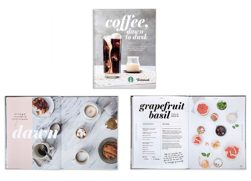 Tastemade + Starbucks Coffee Book by Clever Creative