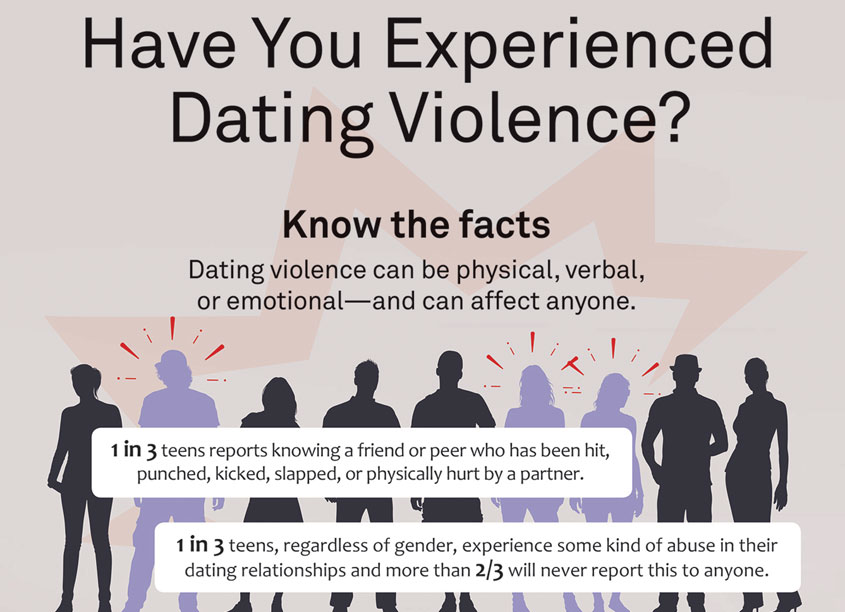 Corporate Visions  Dating Violence Infographic