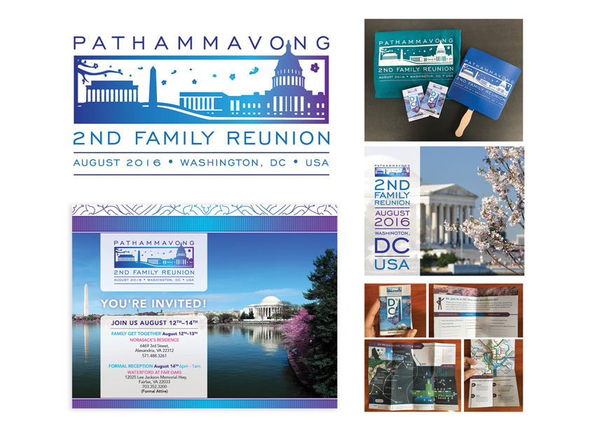 Family Reunion Campaign by Norasack Design