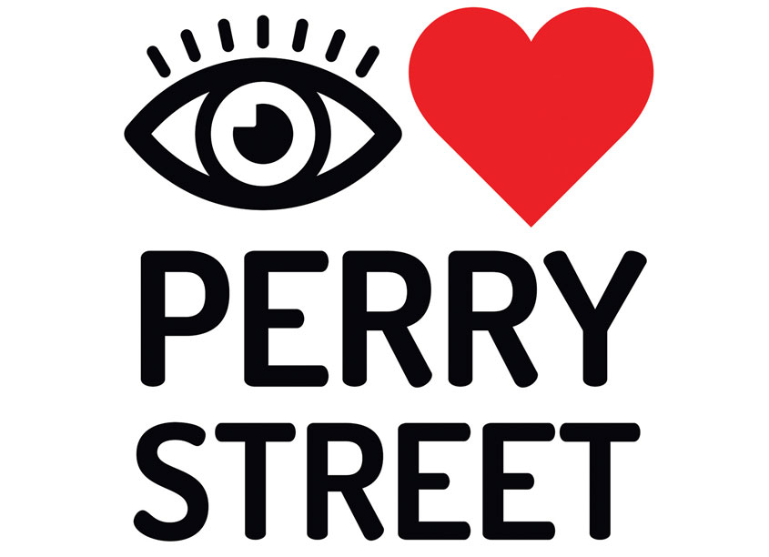 I Heart Perry Street Logo by Mermaid, Inc.