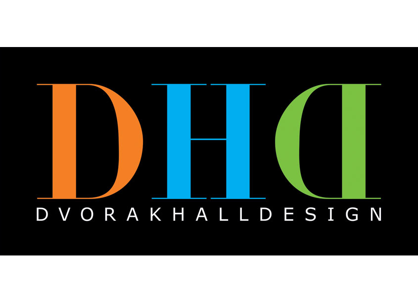 Kevin Hall Design  Dvorak Hall Design Logo