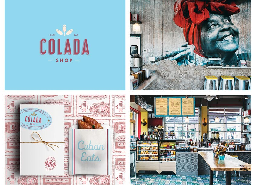 Colada Shop Branding by Bartlett Brands