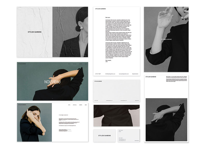 Adam Ridgeway Identity and Website Design