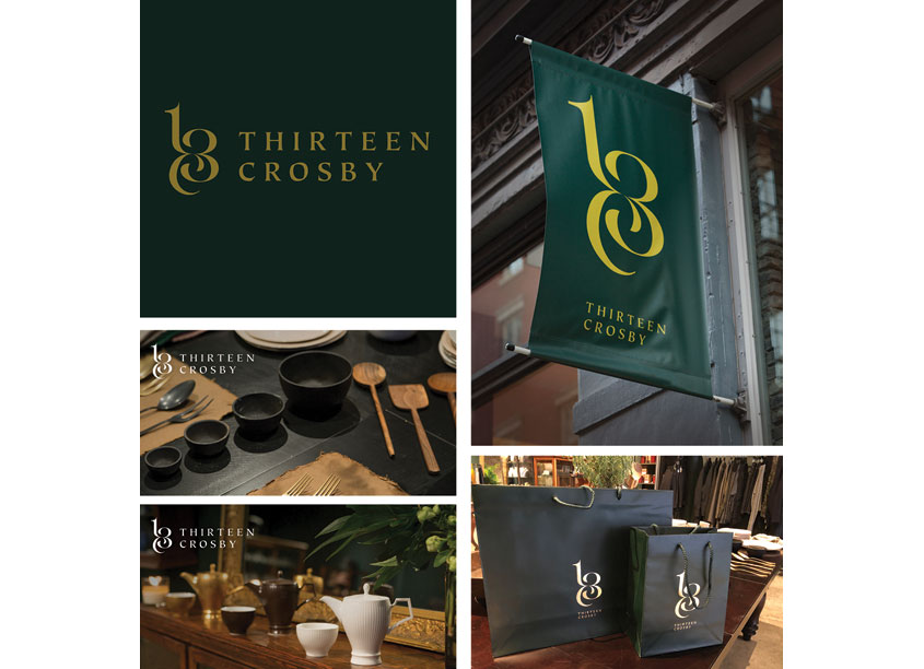 KUDOS Design CollaboratoryTM Thirteen Crosby Branding