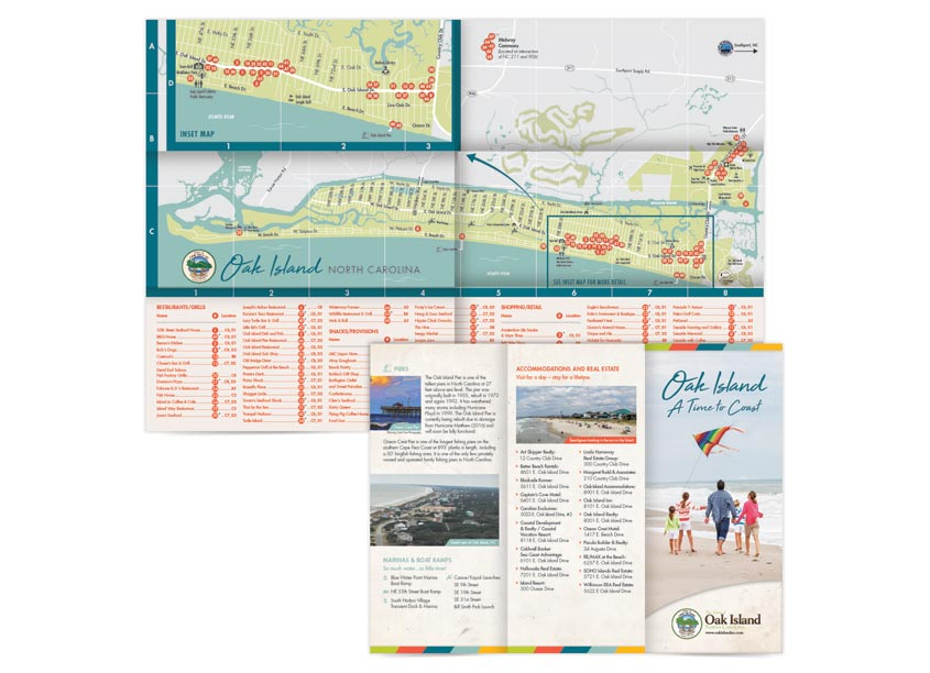 Liaison Design Group Brochure & Visitor's Map