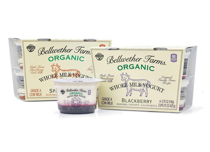 Mark Oliver, Inc. Bellwether Blackberry & Apple Yogurt Cups