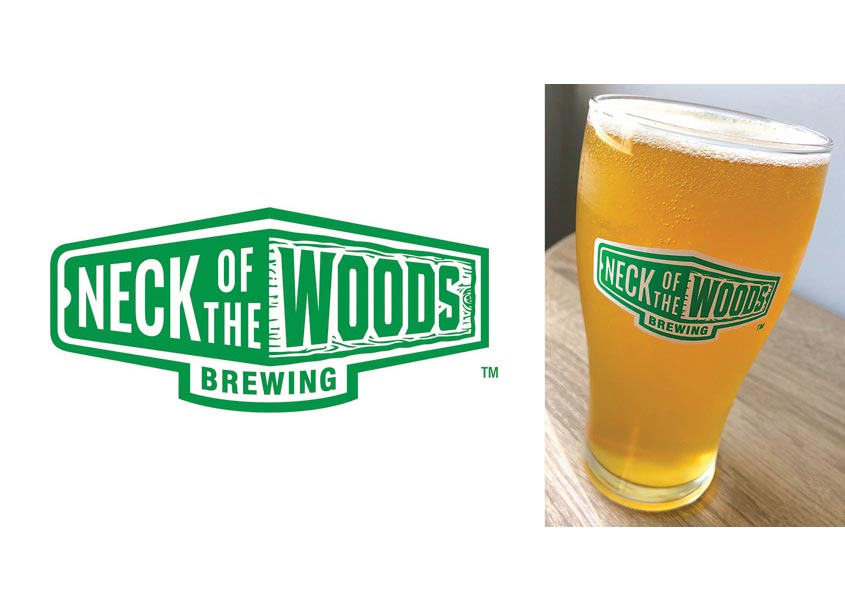 Neck of the Woods Brewing Logo by BMB Branding and Design, LLC