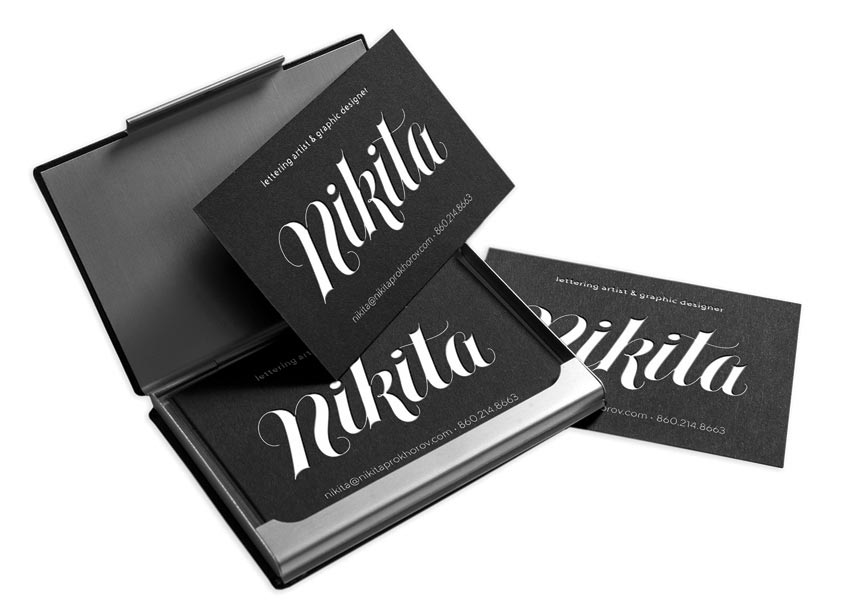 Nikita Personal Logo and Business Card by Nikita Prokhorov Graphic Design