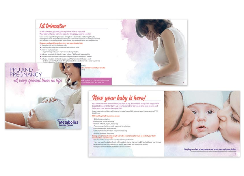 PKU Maternal Booklet by Nutricia North America