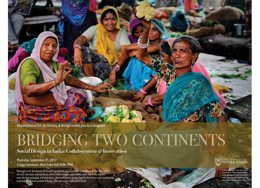 Bridging Two Continents Poster by desigNV [design+envy]