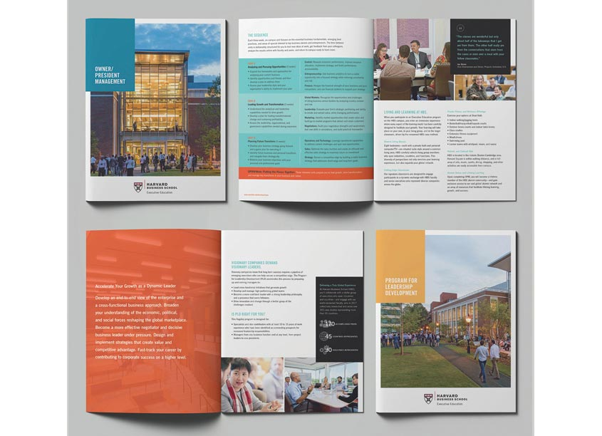 Program Brochures by PBD Partners