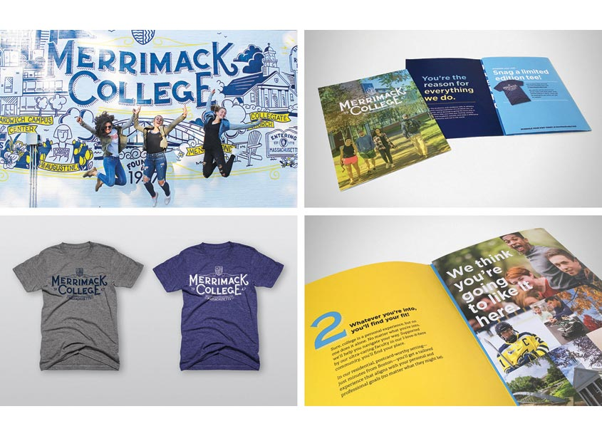 Merrimack Admissions Materials 2017-2018 by PBD Partners