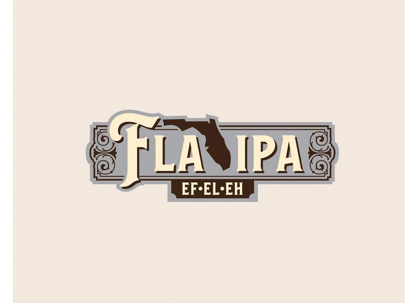 Phelan Family Brands FLA-IPA Logo Design