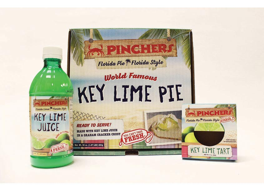 Phelan Family Brands Key Lime Products Packaging
