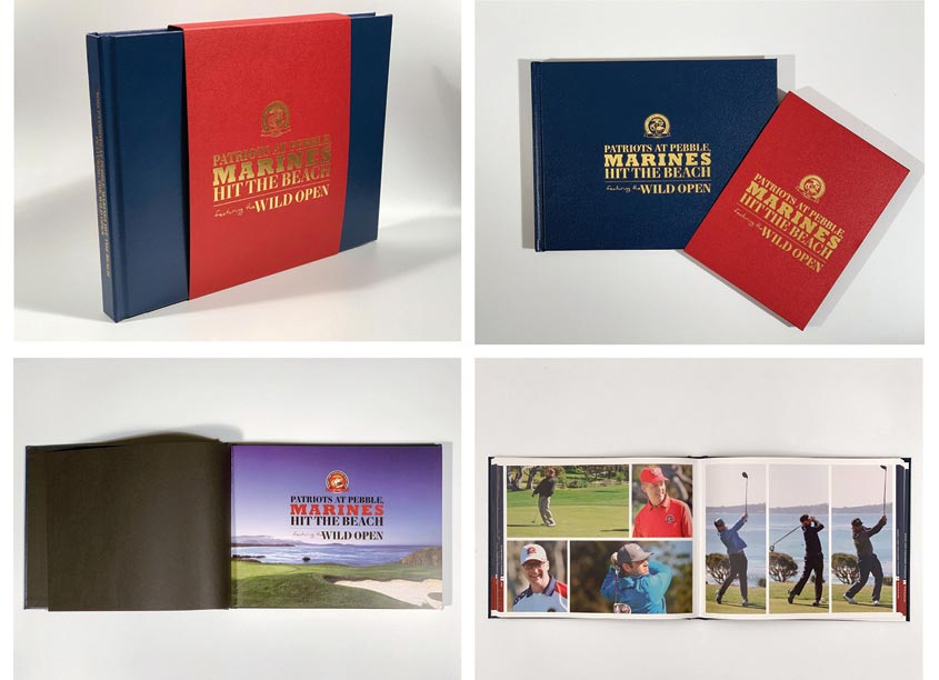 R. von Zimmer Design 2018 Patriots at Pebble Beach Photobook