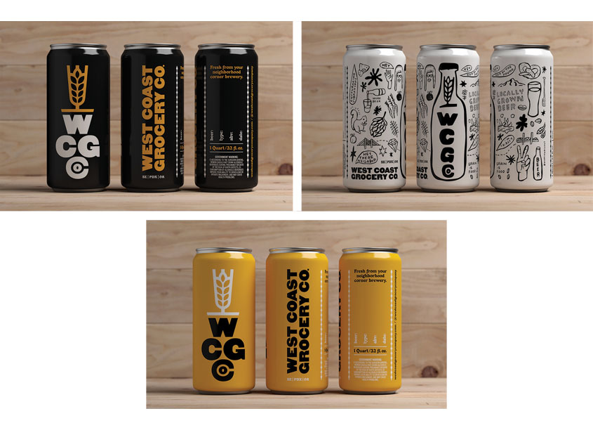 Crowler Packaging by Sally Morrow Creative