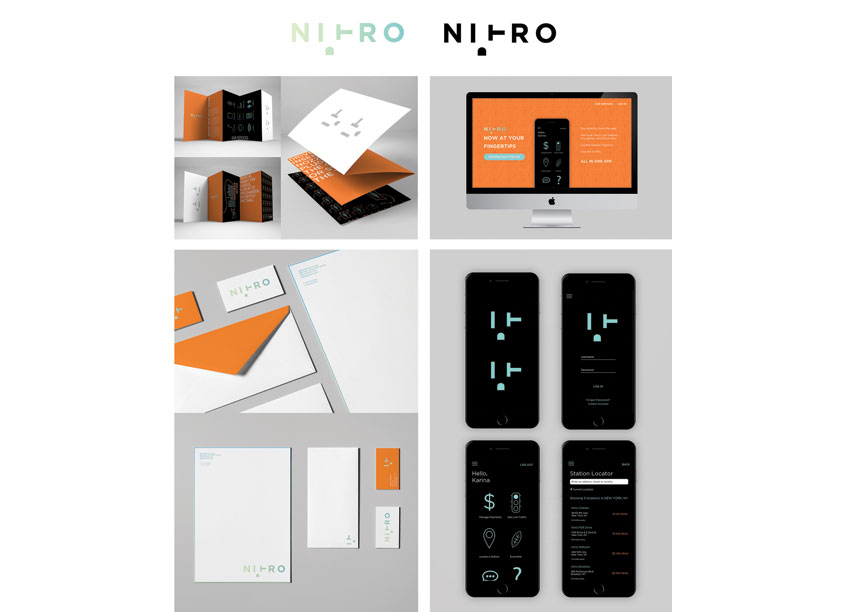 Nitro Energy Branding by Parsons School of Design