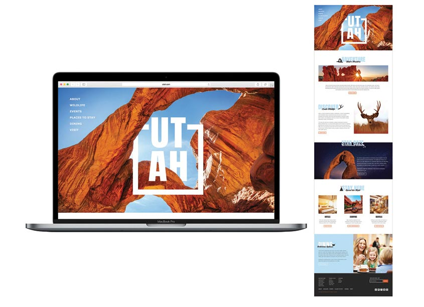 Utah Website by The Modern College of Design