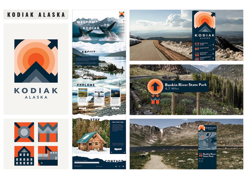 Kodiak Alaska Branding by The Modern College of Design