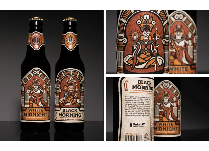 Beer Label by The Modern College of Design