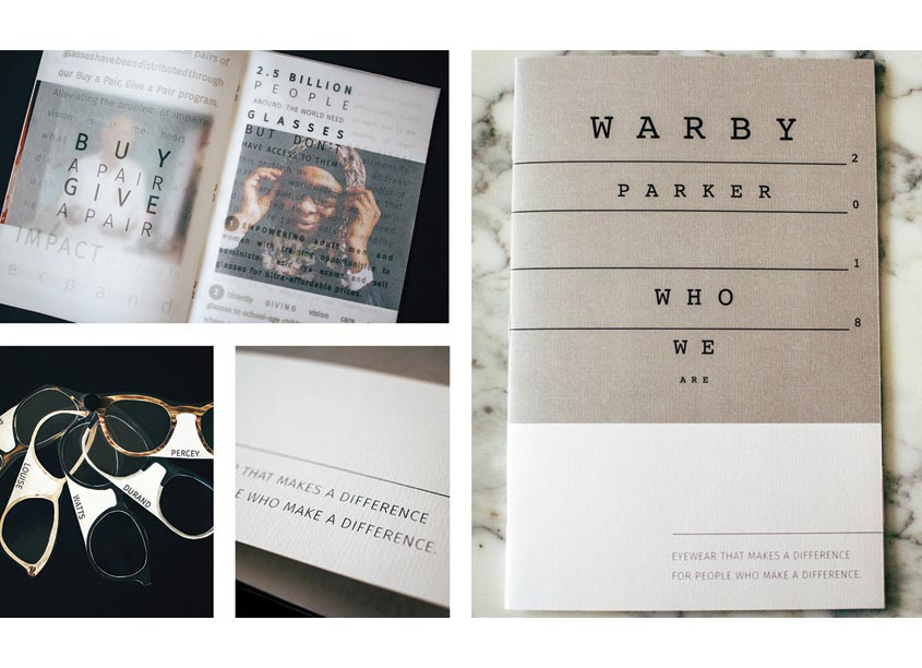 Warby Parker Lookbook by The Modern College of Design