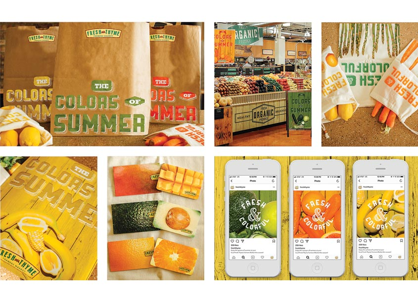 Fresh Thyme Campaign by The Modern College of Design