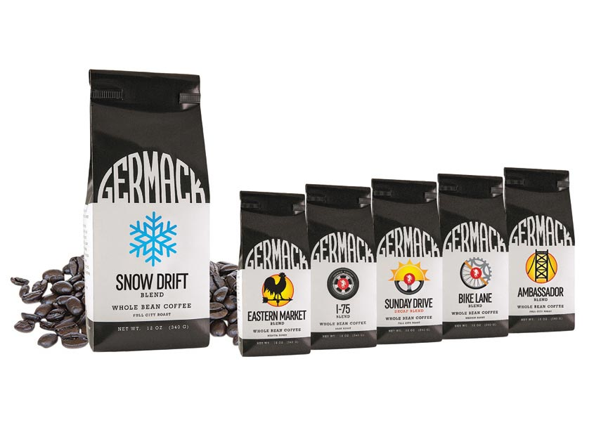 Germack Coffee Bags - Blends by Anne Ink LLC