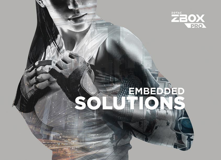 ZBOX Pro Launch Campaign Key Visual by ZOTAC