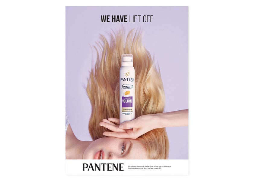Aruliden Pantene Foam Conditioner Advertising