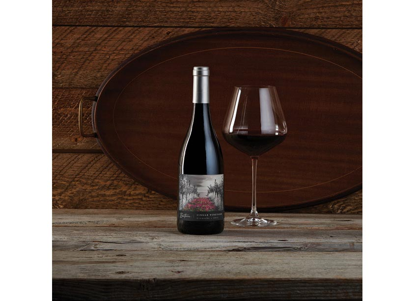 Fetzer In-House Creative Single Vineyard Grenache Label Design