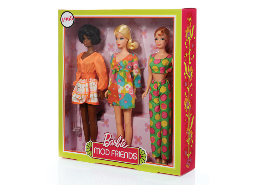 Mattel, Inc. Barbie® Mod Friends DollsTM