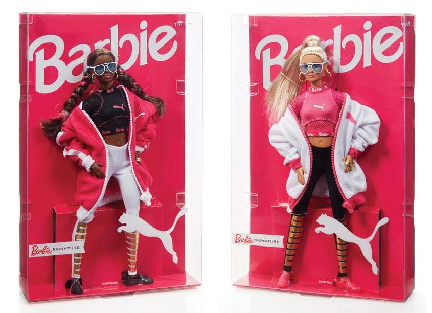 Mattel, Inc. Barbie® Puma Dolls