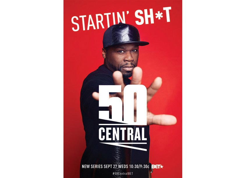 BET Networks 50 Central Key Art Poster