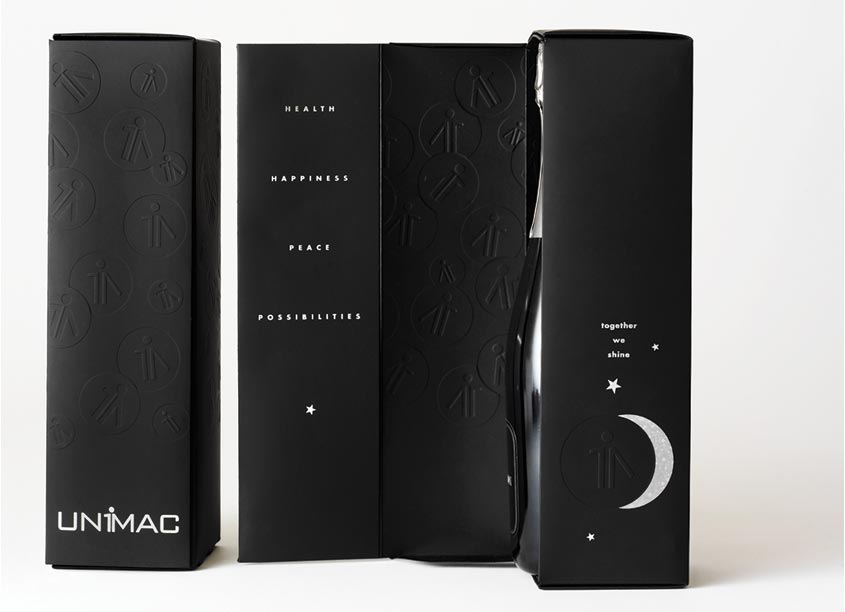 Unimac Champagne Box, Together We Shine by Bonavita Design LLC