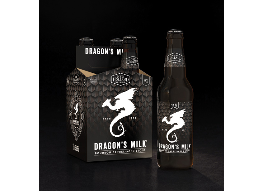 COHO Creative Dragon's Milk Rebrand