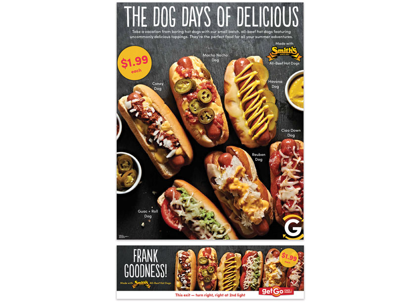 Giant Eagle Advertising Department Dog Days of Summer