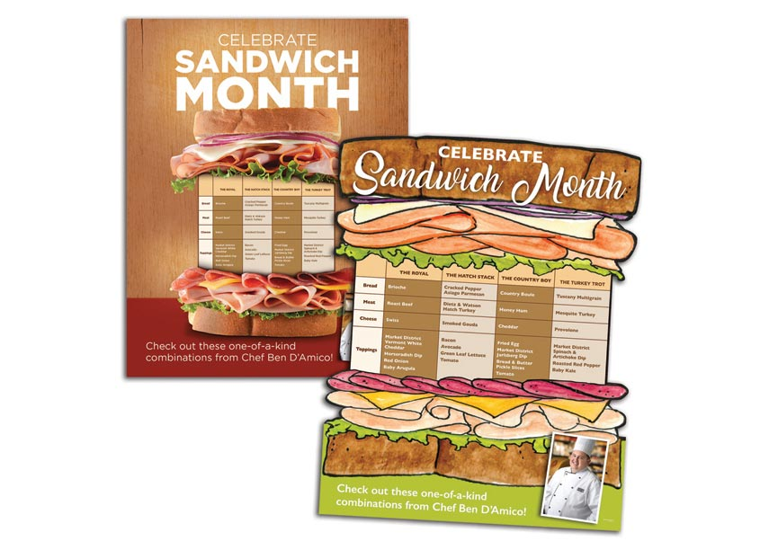 National Sandwich Month by Giant Eagle Advertising Department