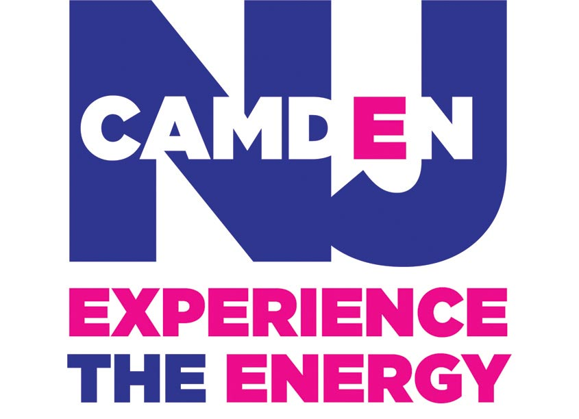 Gene Burns Graphic Design Camden NJ Experience the Energy Logo