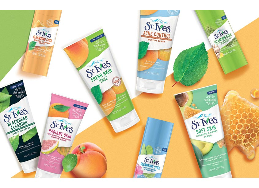 1HQ USA St. Ives Packaging Redesign