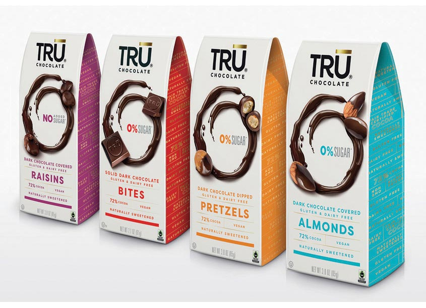 1HQ USA TRU Chocolate Packaging Redesign